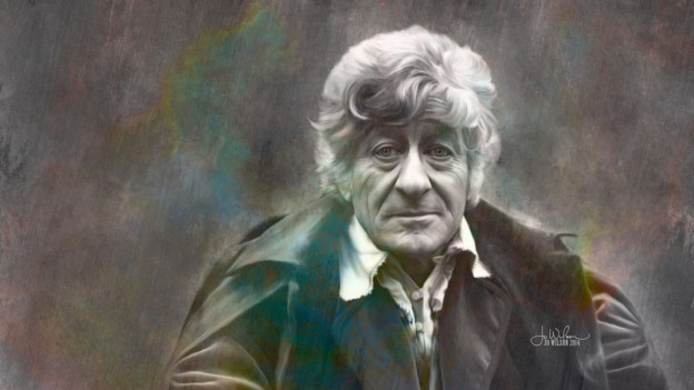 """The Third Doctor"" by Jo Wilson (2014)"